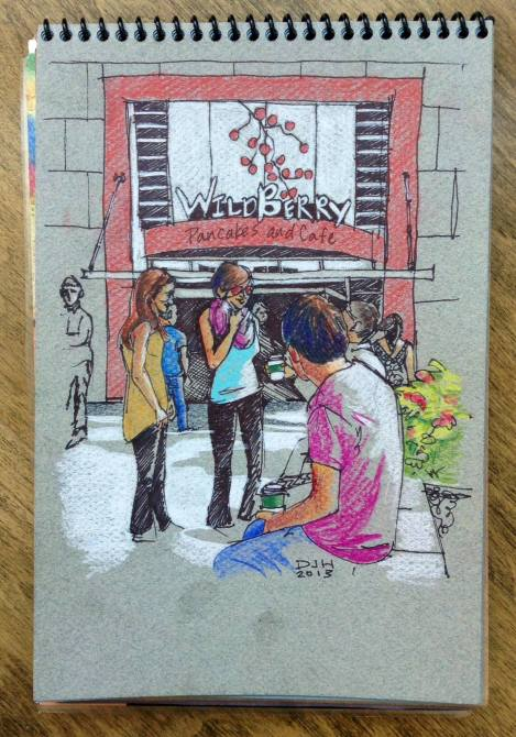 Danae Designs Plein Air Wildberry Chicago