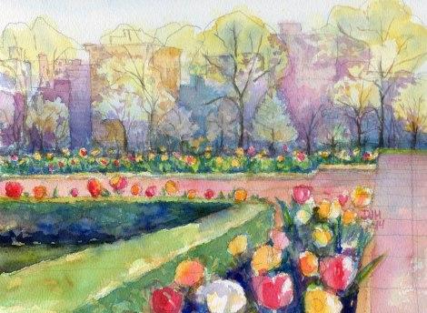 Danae Designs Jewel Box City Tulips 2014