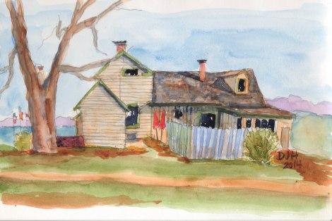 Danae Designs Surgar Creek Windery Missouri Watercolor