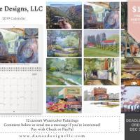 2019 Calendars by Danae Designs, LLC