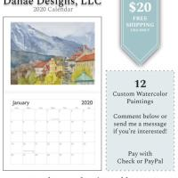 2020 Calendars by Danae Designs, LLC