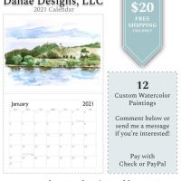 2021 Calendars by Danae Designs, LLC